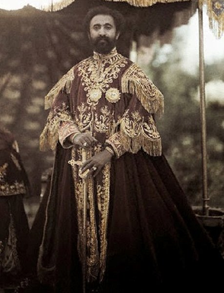 Негус Негест Хайле Селассие I (1930-1974 гг.). Последний император Эфиопии. Фото 1931 года