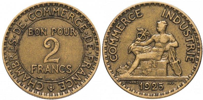 2 франка 1925 года