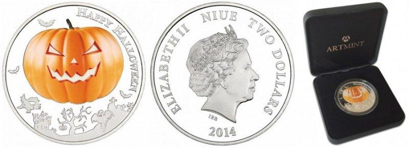 Ниуэ, 2 доллара, 2014 год