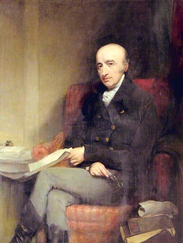 Волластон Уильям Хайд. Худ. Д. Джэксон. Англия. до 1829 г. Холст, масло
