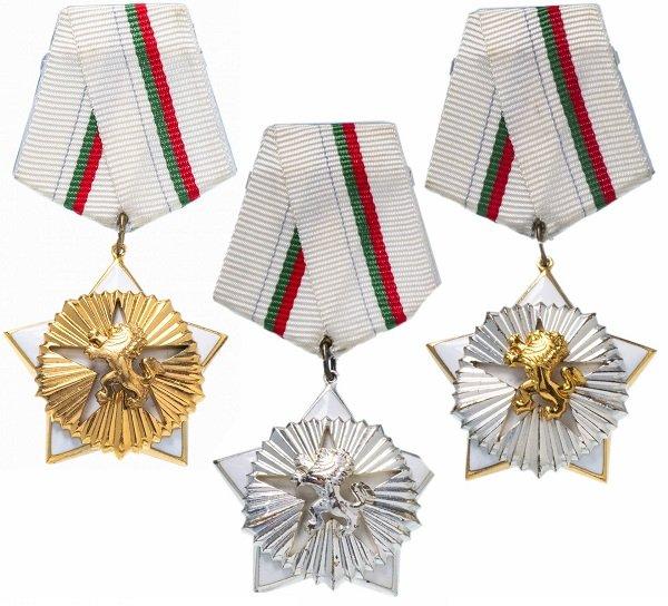Орден «За гражданскую доблесть и заслуги» трех степеней