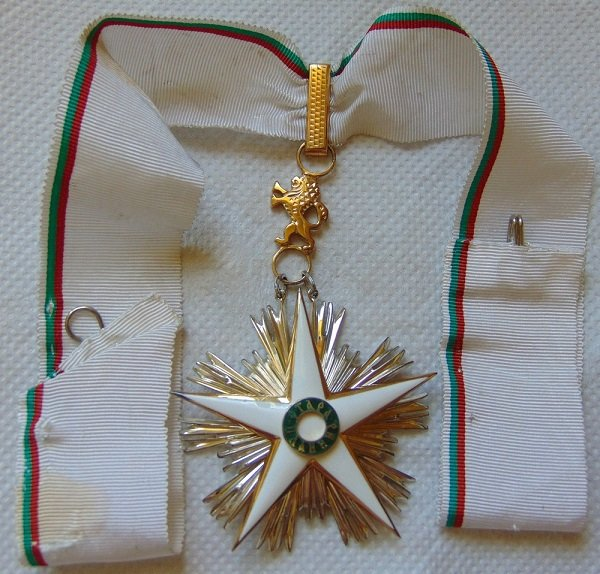 Орден «Стара Планина» первой степени с лентой