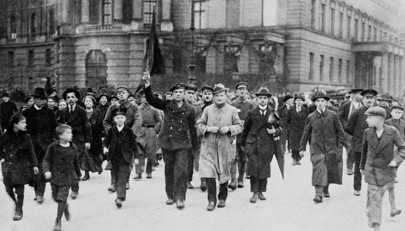 Ноябрьская революция в Германии, 1918 год