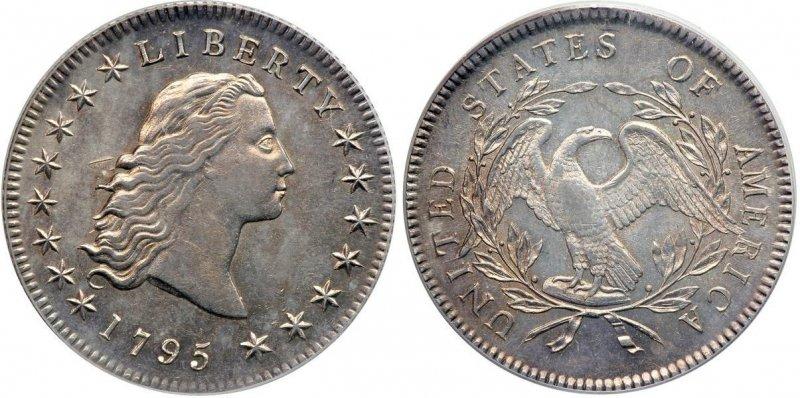 1 доллар 1795
