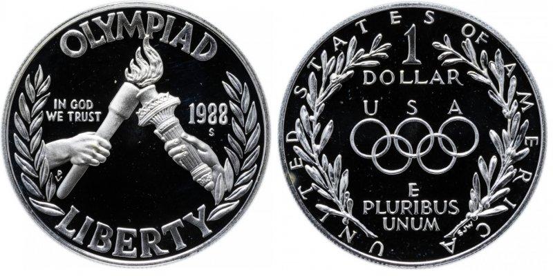 Доллар олимпийский 1988