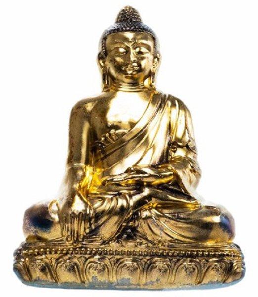 Сувенирная монета в виде статуи сидящего Будды. Монголия. 2018 год. Серебро. 93,3 г