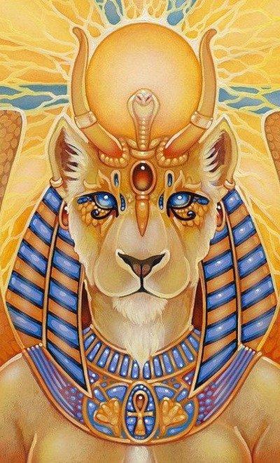 Египетская богиня Сехмет
