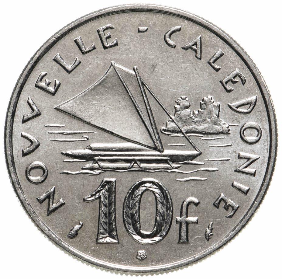 купить Новая Каледония 10 франков (francs) 1977