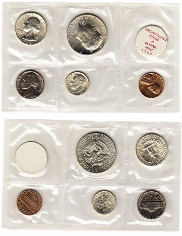 купить США годовой набор 1964 D (5 монет + жетон)