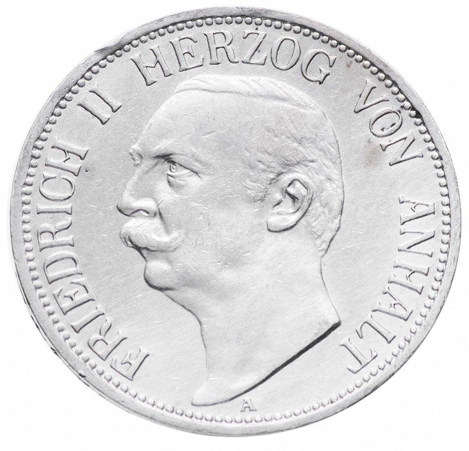 купить Анхальт 3 марки 1911