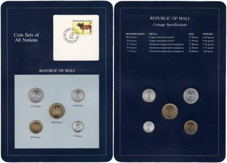 """купить Серия """"Наборы монет всех стран мира"""" - Мали (набор из 5 монет и 1 марки в буклете)"""