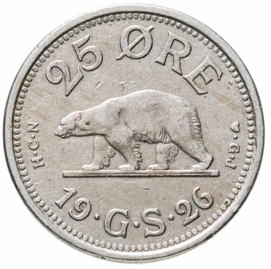 купить Гренландия 25 эре 1926 год