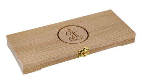 купить Футляр деревянный для 10 монет (слэб бука, массив)