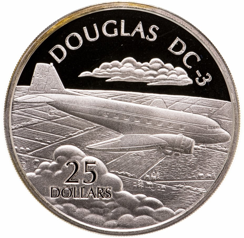 купить Соломоновы Острова 25 долларов (dollars) 2003  Самолёты - Douglas DC-3