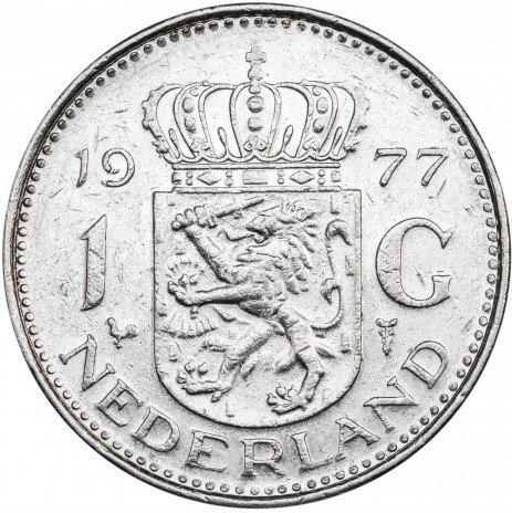 купить Нидерланды 1 гульден 1977