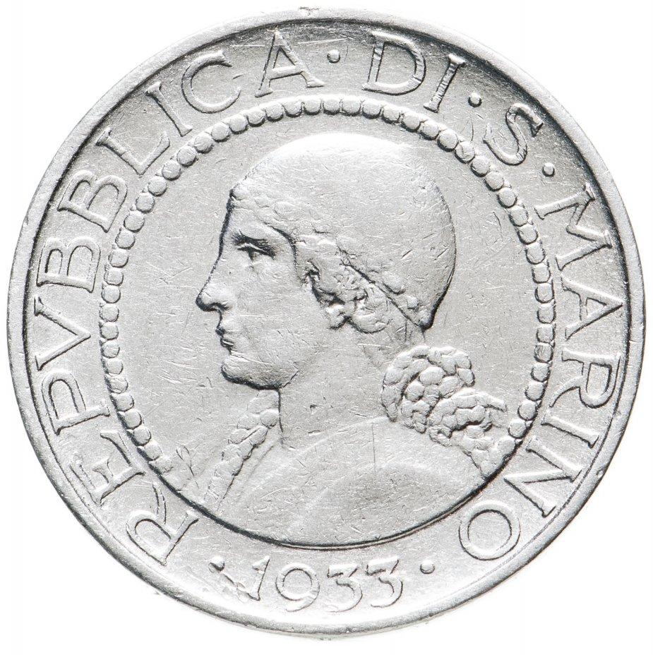 купить Сан-Марино 5лир (lire) 1933