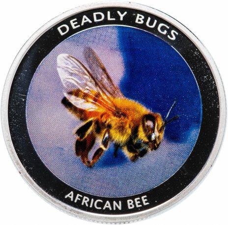 """купить Замбия 1000 квач 2010 """"Смертоносные насекомые - африканская пчела"""""""
