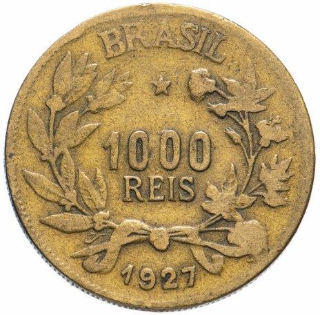 купить Бразилия 1000 рейс (reis) 1927