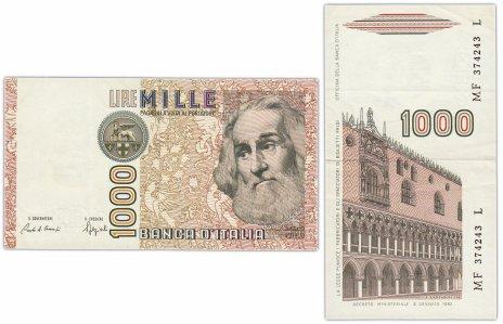 купить Италия 1000 лир 1982