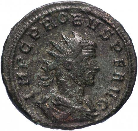 купить Римская Империя Проб 276–282 гг антониниан (реверс: женская фигура протягивает венок императору)