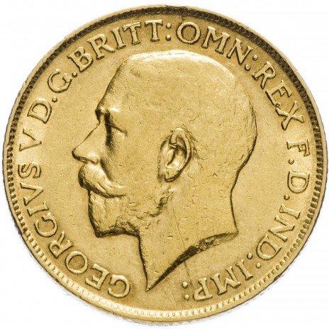 купить Великобритания 1 фунт стерлингов (соверен) 1911