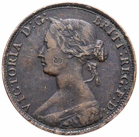 купить Канада, Нью-Брансуик 1 цент (cent) 1864
