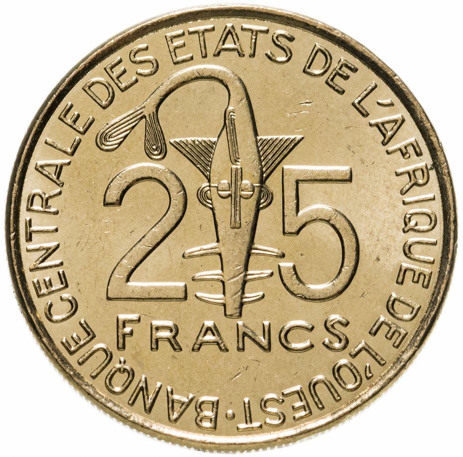 купить Западная Африка (BCEAO) 25 франков (francs) 2017