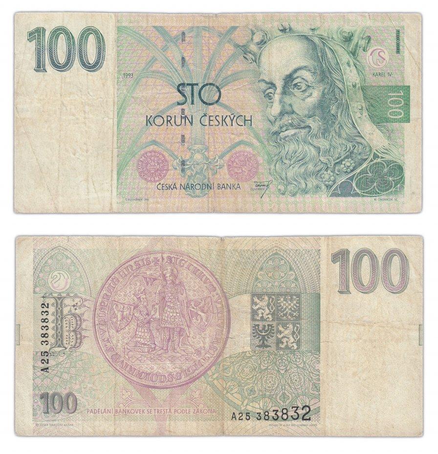 купить Чехия 100 крон 1993 (Pick 5)