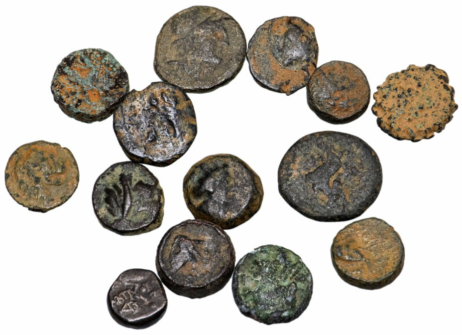 купить 15 Монеты Селевкидов 4-1 век до.Р.Х. (состояние F)