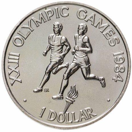 """купить Соломоновы Острова 1 доллар (dollar) 1984 """"XXIII летние Олимпийские Игры, Лос-Анджелес 1984"""""""