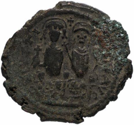 купить Византия, Юстин II 565-578 гг фоллис (40 нуммий)