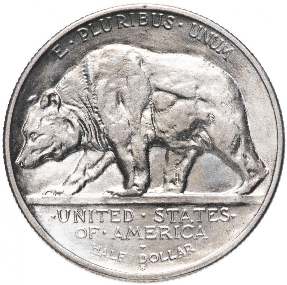 """купить США 50 центов (1/2 доллара, half dollar) 1925 """"60 лет штату Калифорния"""""""