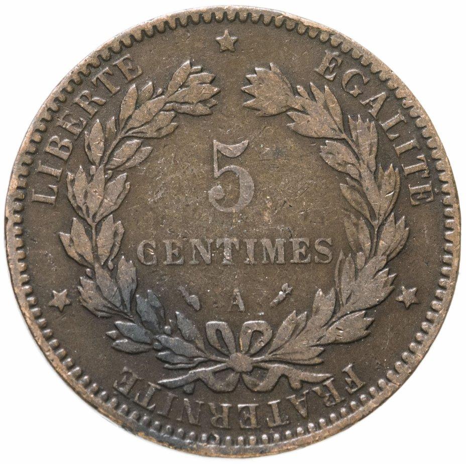купить Франция 5сантимов (centimes) 1896