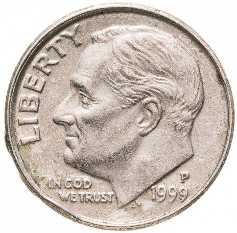 купить США 10 центов (дайм, one dime) 1990-1999