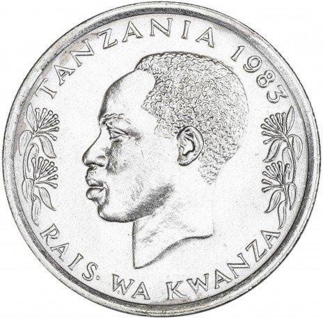 купить Танзания 50 сенти 1983