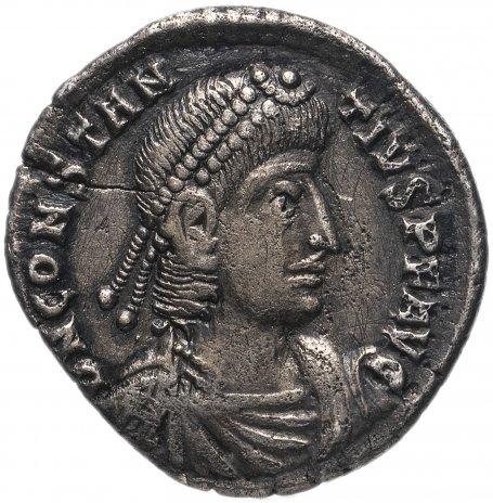 купить Римская империя, Констанций II, 337-361 годы, аргентей.