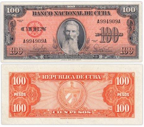 купить Куба 100 песо 1959