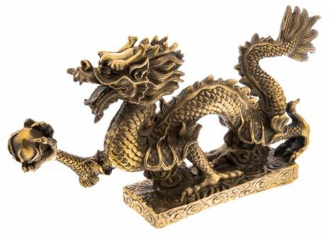 """купить Статуэтка """"Дракон"""", бронза, литье, Китай, 2000-2020 гг."""