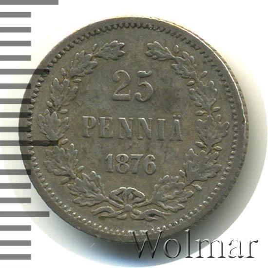 купить 25 пенни 1876 года S