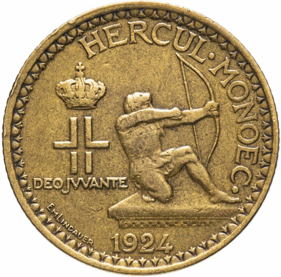 купить Монако 2 франка (francs) 1924