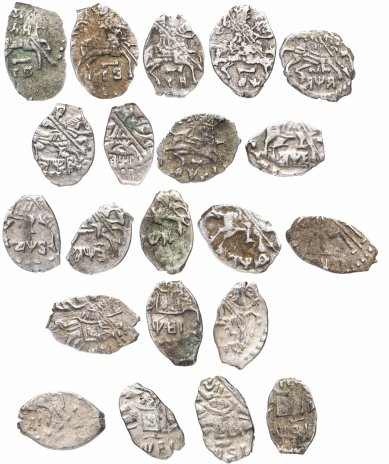 купить Пётр I набор из 21 монеты (погодовка) 1698-1717