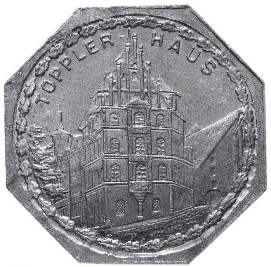 """купить Германия (Нюрнберг) нотгельд  20 пфеннигов 1921 """"Дом Топплера"""" трамвайный жетон"""