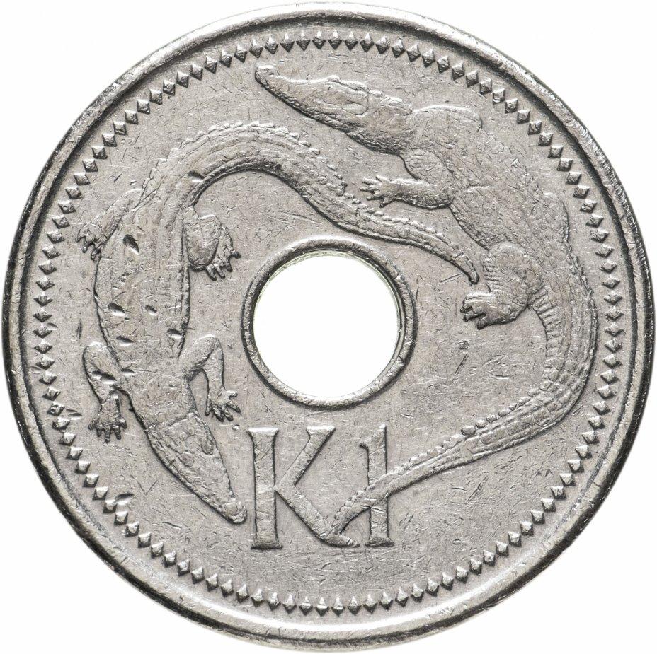 купить Папуа - Новая Гвинея 1 кина (kina) 2005