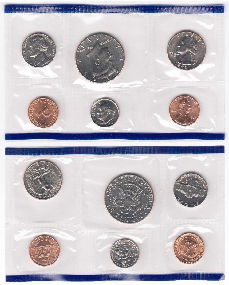 купить США годовой набор 1993 Р (5 монет+жетон)