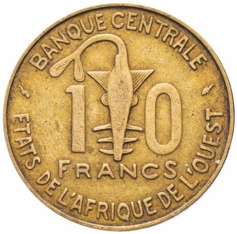 купить Западная Африка (BCEAO) 10 франков (francs) 1966-1981, случайная дата