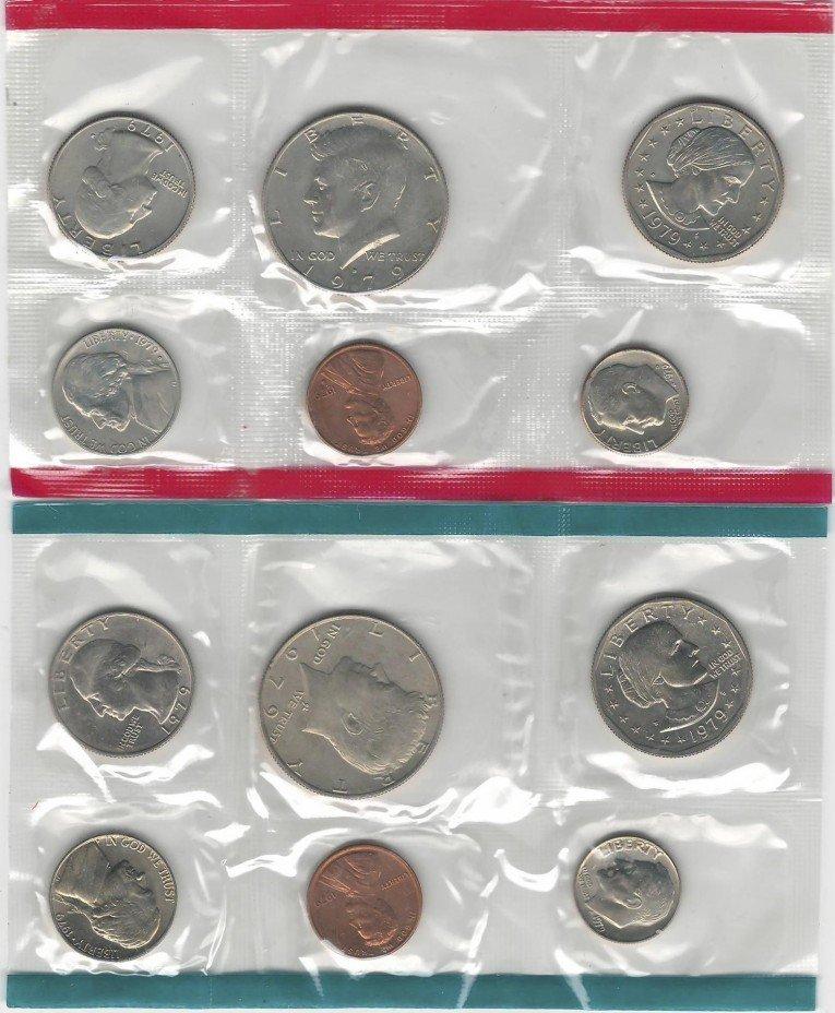 купить США набор монет 1979 P+D (12 монет)