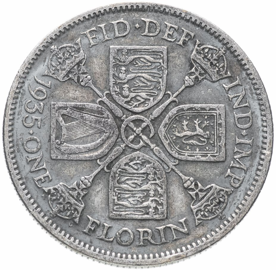 купить Великобритания 2 шиллинга (флорин) 1935