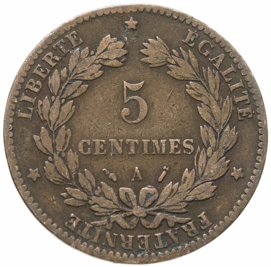 купить Франция 5сантимов (centimes) 1888