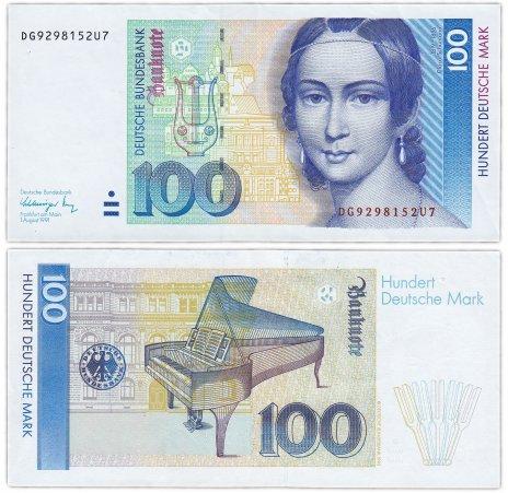 купить Германия ФРГ 100 марок 1991 (Pick 46)