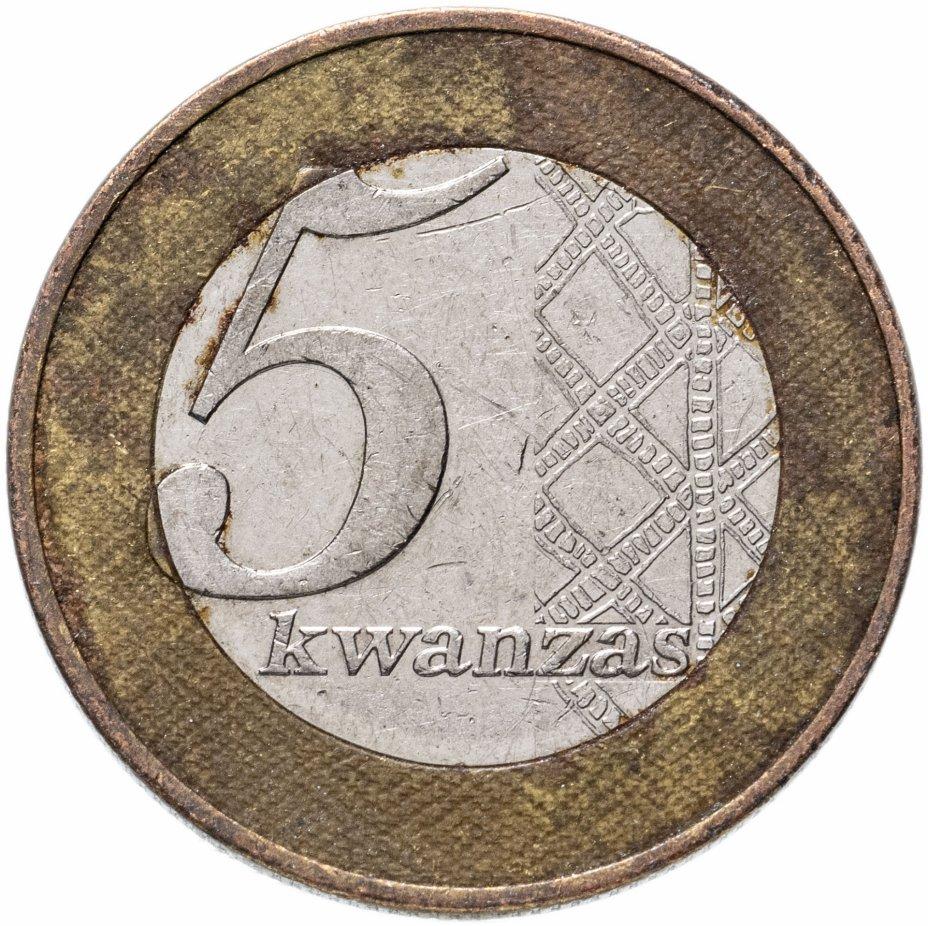 купить Ангола 5 кванз (kwanzas) 2012